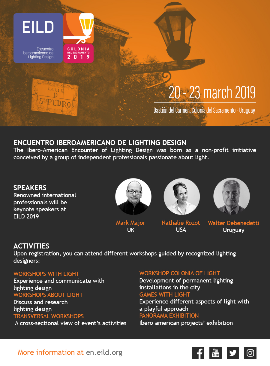 EILD - Ibero-American Meeting of Lighting Design