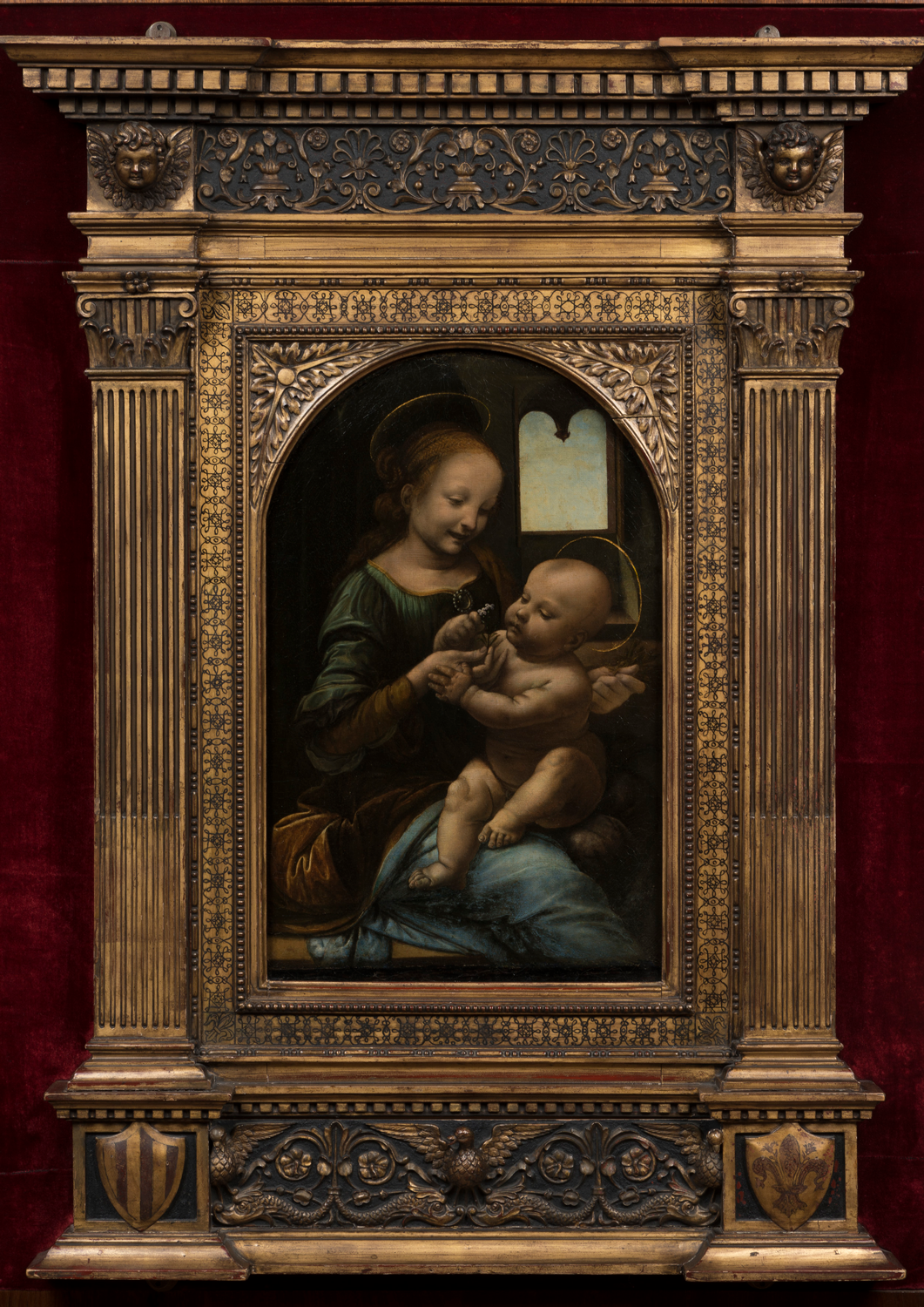 iGuzzini illuminates the Madonna Benois
