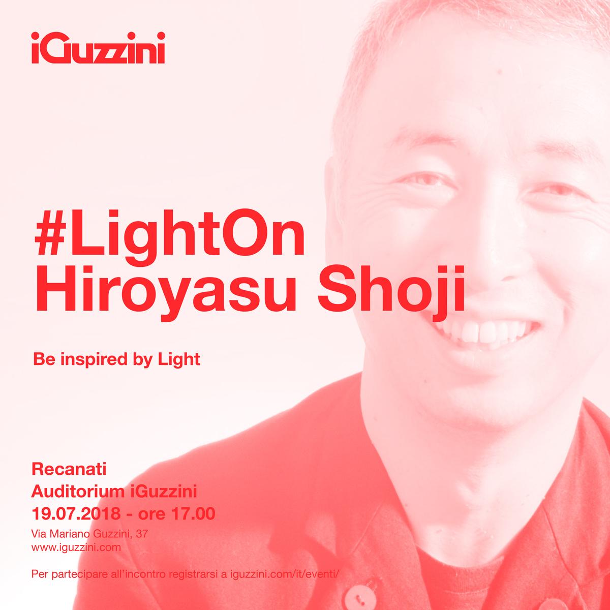 #LightOn Shoji Hiroyasu