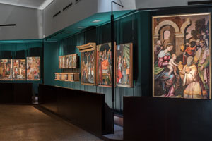 The altarpieces at the Pinacoteca Nazionale in Cagliari