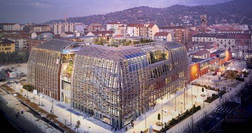 iGuzzini colabora con Green Pea, el primer Green Retail Park del mundo