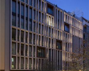 Eine dynamische Fassade für das Hotel Ohla Eixample