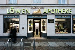 The Löwen pharmacy