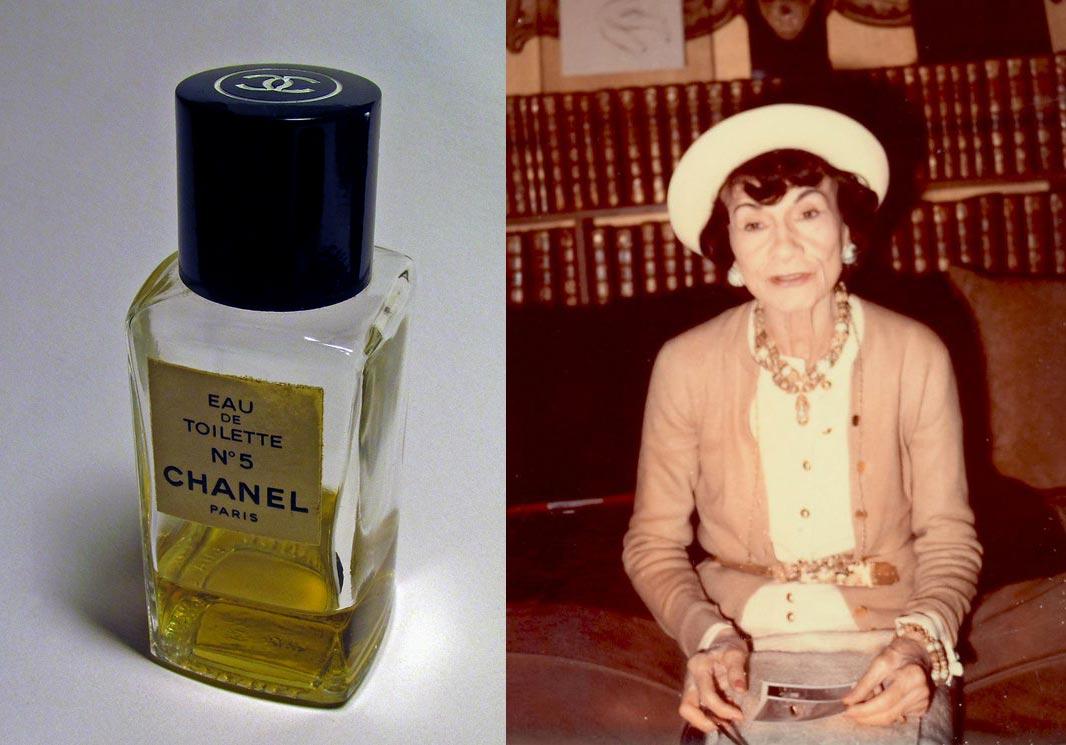 Coco Chanel's colours