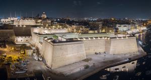 Die neue Beleuchtung von Vittoriosa