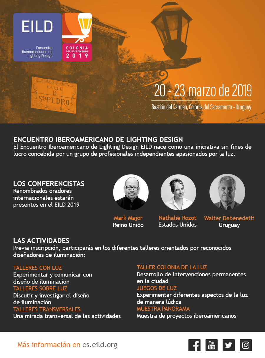 EILD, Encuentro Iberoamericano de Lighting Design