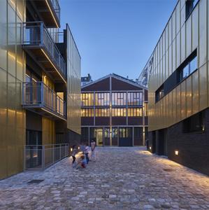 168 Rue de Crimée. Residencias para artistas
