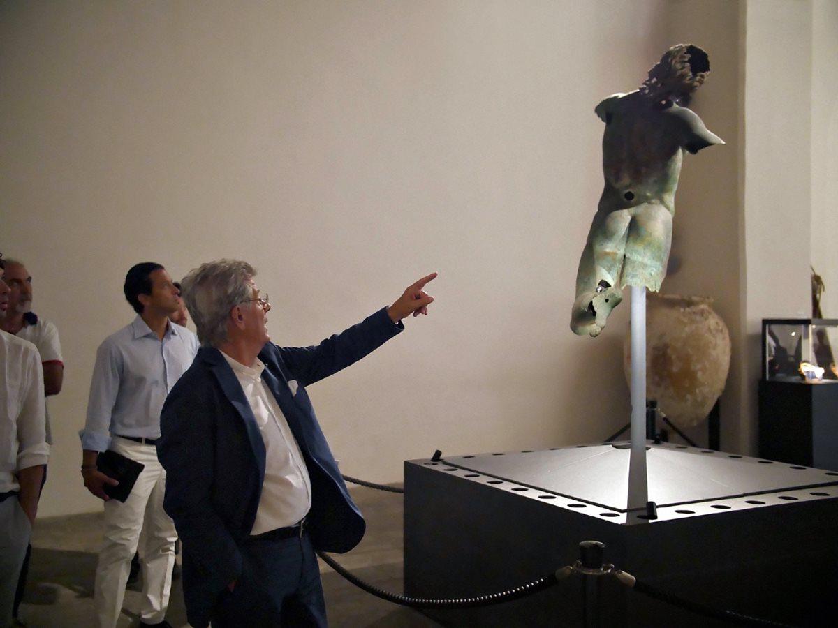 Nouveaux scénarii lumineux pour le Musée du Satyre de Mazara del Vallo