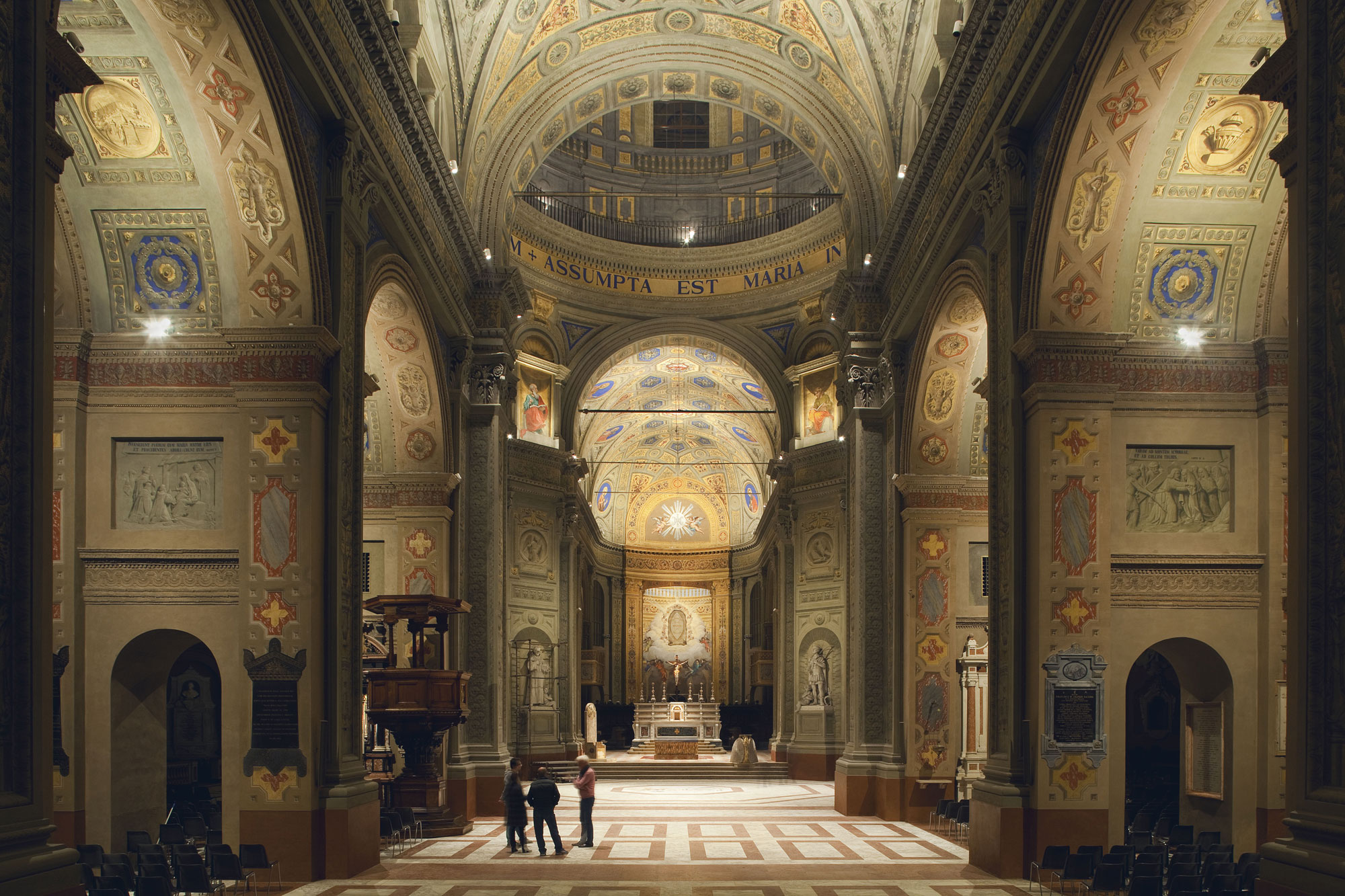 iGuzzini illuminates the rebirth of Duomo di Carpi