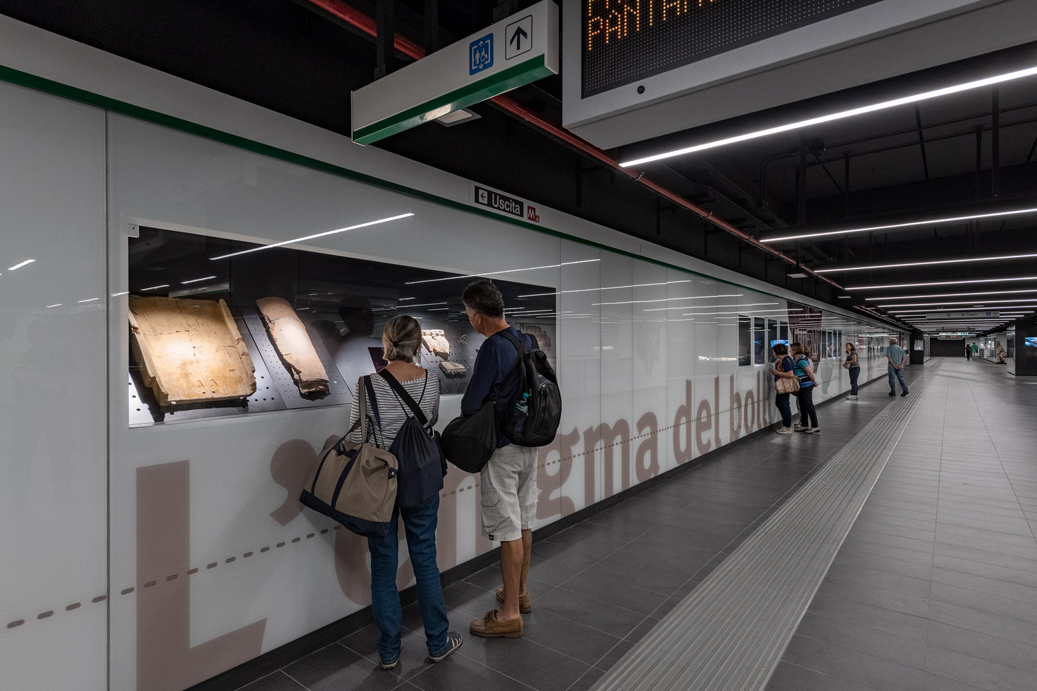 """The only metro station in Rome that feels European"""