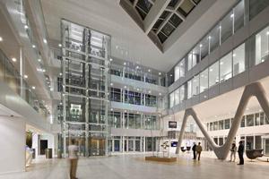 Ein Lichtprojekt für die regionale Verwaltungszentrale einer der großen Banken Frankreichs
