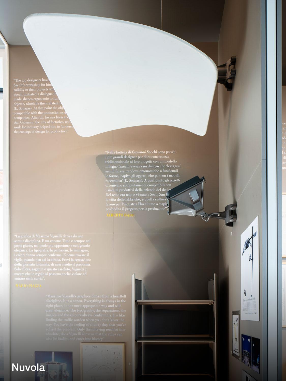 Les Compasso d'Oro iGuzzini exposés à l'ADI Design Museum